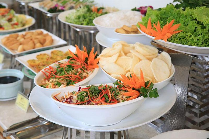 Các món chay thanh đạm thơm ngon đãi tiệc buffet không thể bỏ qua